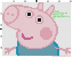 George Pig cross stitch pattern (click to view)