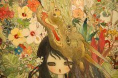Aya Takano from japan Aya Takano, Japanese Artists, Pretty Art, Types Of Art, Art Forms, Art Images, Amazing Art, Fashion Art, Illustrators