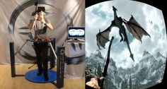 Cyberith Virtualizer - Immersive Virtual Reality Gaming, Augmented Reality, Future Trends, Futuristic Technology