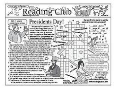 PRESIDENTS DAY - Enjoy a Presidents Day and the First Ladies-themed Two-Page Activity Set and Word Search Puzzle with this discounted bundle! Includes the following products: Presidents Day Two-Page Activity Set; First Ladies Word Search puzzle; free read