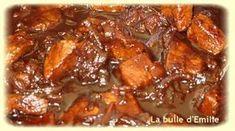 Filet mignon de porc au miel (Weight-Watchers)