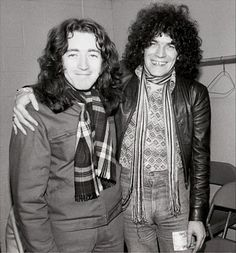 Rory with Dan McCafferty photo by Chuck Purlin