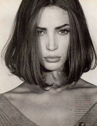 Christy Turlington by Steven Meisel for Vogue Italia 1989