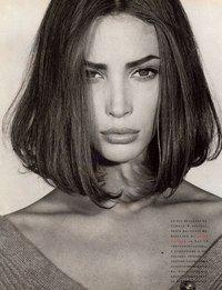 Christy Turlington by Steven Meisel for Vogue Italia 1989
