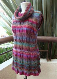 Patrón de vestido con cuello de tortuga   Karin Herrera