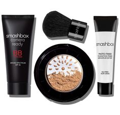 TRY IT KIT: BB + HALO : This is an amazing deal! I love smash box products! The BB cream gives suck a great coverage and light application at the same time. I have problem skin so it's nice to have something that is light and covers at the same time.