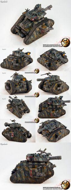 WH40K Imperial Guard LEMAN RUSS PUNISHER www.ilnanonefasto.it