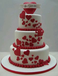 Our 10th yr anni cake but 2 tier