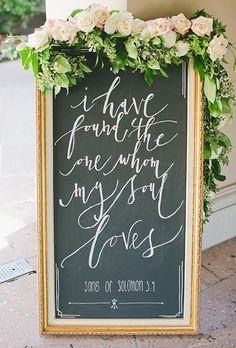Greet guests with a poem   Brides.com