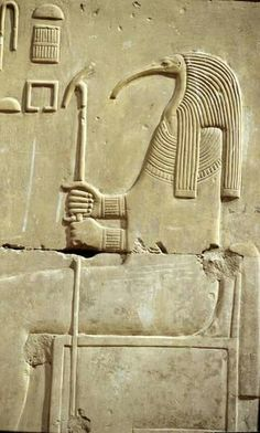 Thoth god of writing and magick