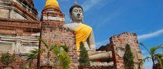 Wat Yai Chai Mongkhon, Ayutthaya #Thailand http://www.viaggiaescopri.it/ayutthaya-capitale-dei-templi-thailandia/