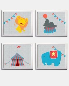 Circus Nursery...love this