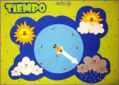 Janela do tempo Craft Activities For Kids, Learning Activities, Preschool Activities, Kids Learning, Crafts For Kids, Cloud Craft, Weather Crafts, Bear Crafts, Fathers Day Crafts