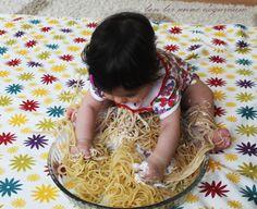 Duyusal oyun - Spagetti ve Yoğurt