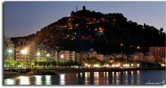 Costa Brava, Blanes Spain  absolutely beautiful at night!!