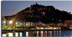 Costa Brava, Blanes Spain  absolutely beautiful at night!!