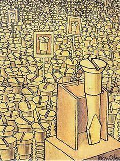 humor grafico LOS POLITICOS y el PUEBLO