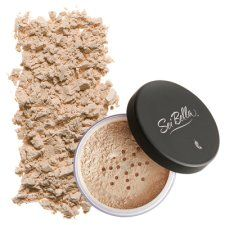 Sei Bella . loose powder... in medium. Better and cheaper than Bare Minerals!! lbalthaser@wedeliverwellness.com