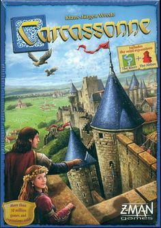 Carcassonne | Image | BoardGameGeek  -- I have the old Rio Grande edition without the River or the Abbott.