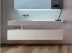 M s de 1000 ideas sobre lavabos suspendidos en pinterest - Mueble bajo lavabo ...
