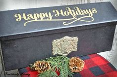 Holiday Mailbox with the Silhouette