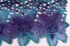 How to Make Painted Lace