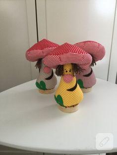 kumaş mantarlar ev dekorasyonunda kumaş biblolardan hoşlanalara göre. el yapımı kumaş süsler, bebek odası süsleme fikirleri, kumaş oyuncaklar ve dikiş videoları 10marifet.org'da