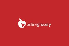 Online Grocery Logo Template by bvdesign on @creativemarket