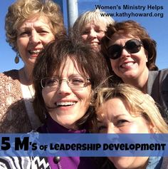 Your women's ministry can have strong leadership through purposeful leadership development. Try the 5 M strategy for Bible study leaders!