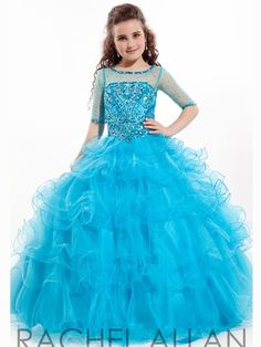 Girls Pageant Dress Perfect Angel 1564: PageantDesigns.com
