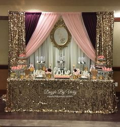 Birthday Party Decoracion Sweet 16 Baby Shower 29 Ideas For 2019 Baby Shower Themes, Baby Shower Decorations, Birthday Party Decorations, Wedding Decorations, Diy Sweet 16 Decorations, Shower Party, Bridal Shower, Quinceanera Decorations, Sweet 16 Birthday
