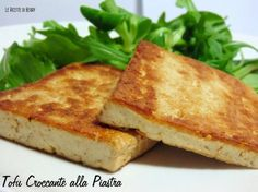Avete provato il tofu ma non vi è piaciuto? Con questa ricetta vi assicuro che vi piacerà un sacco. tofu croccante alla piastra: il mio trucco segreto