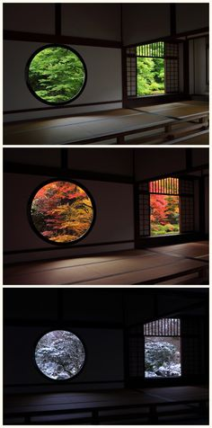 Genko-an Temple (Kyoto,JAPAN) Summer/Fall/Winter