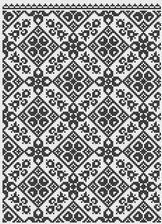 Diy Bead Embroidery, Blackwork Embroidery, Folk Embroidery, Cross Stitch Embroidery, Embroidery Patterns, Cross Stitch Patterns, Crochet Patterns, Knitting Machine Patterns, Knitting Charts