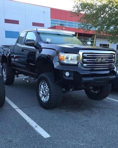 New Gmc Canyon These Trucks Look So Good Lifted Chevy