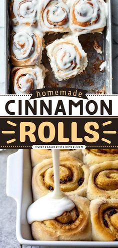 Looking for an easy breakfast recipe or brunch recipe? Make your mornings indulgent with these Cinnamon Rolls! This homemade and easy sweet bread recipe is perfect for the whole family. Save this pin! Best Cinnamon Roll Recipe, Cinnamon Roll Icing, Best Cinnamon Rolls, Delicious Breakfast Recipes, Brunch Recipes, Bread Recipes, Instant Yeast, Rolls Recipe, Sweet Bread