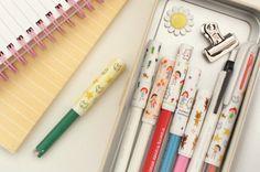 Murmuring Pencil Cap Set