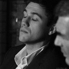 Aaron Tveit trying to kill us <3 (gif)