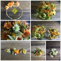 Rich and stunning bridal party flowers by Dragonfly Floral, Headlsburg CA June Events, Table Decorations, Bridal, Floral, Party, Flowers, Home Decor, Decoration Home, Room Decor