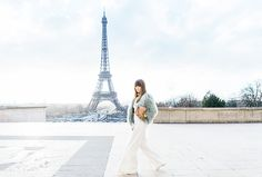 """""""Although most might Instagram from the gardens under the Eiffel Tower, some of the most stunning views can be seen from the Trocadéro in the wee hours of the morning."""""""