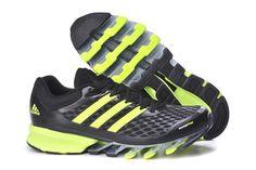 Adidas Springblade V2 Sort Grøn Herre