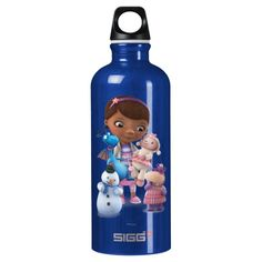 Doc McStuffins and Her Animal Friends. Regalos, Gifts. #bottle #botella