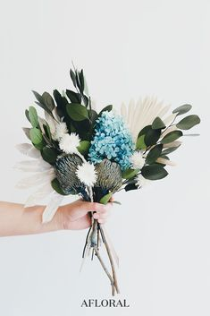 Dried Flower Bouquet with Banksia Protea, Everlasting Flowers, Eucalyptus, Sun Palms, and Hydrangea. Dried Flower Bouquet, Dried Flowers, Natural Bouquet, Bridal Bouquet Fall, Dried Flower Arrangements, Preserved Roses, How To Preserve Flowers, Flower Images, Flowers Nature