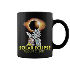 Rick and Morty at Solar Eclipse Mug