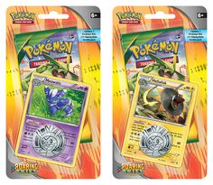 Pokemon XY Roaring Skies Checklane Blister: Diving from the edge of space, Mega Rayquaza-EX makes its magnificent debut while Mega Latios-EX and a horde of Dragon types bellow their challenge! With high-flying superstars like Deoxys, Dragonite, Zekrom, Hydreigon-EX, and Thundurus-EX, the Pokémon TCG: XY—Roaring Skies expansion calls you to battle higher, faster, stronger—and with all-new boosts like Mega Turbo and Double Dragon Energy cards, the sky's the limit!