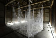 These Haunting Sculptures Are Made From Thousands of Hot Glue Sticks | Wired Design | Wired.com