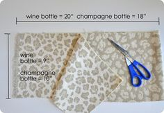 DIY Wine Bottle Gift Bags