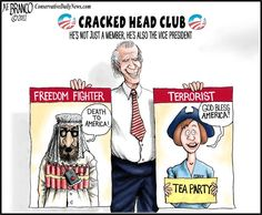 OBAMA CARTOONS: HOW DEMOCRATS SEE FREEDOM FIGHTERS AND TERRORIST