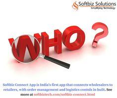 Softbiz Connect App simplifies supply chain management. For more visit: http://www.softbiztech.com/softbiz-connect.html