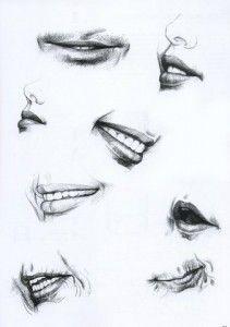 dudak çizimi
